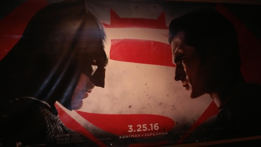 Batman v. Superman poster